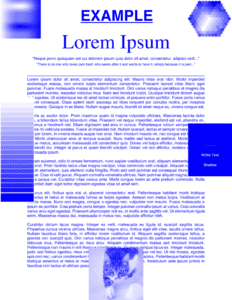 PDF converted to colors for printing without black ink